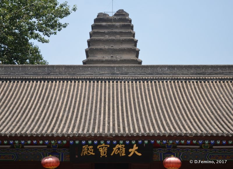 Small wild goose pagoda (Xi'an, China, 2017)