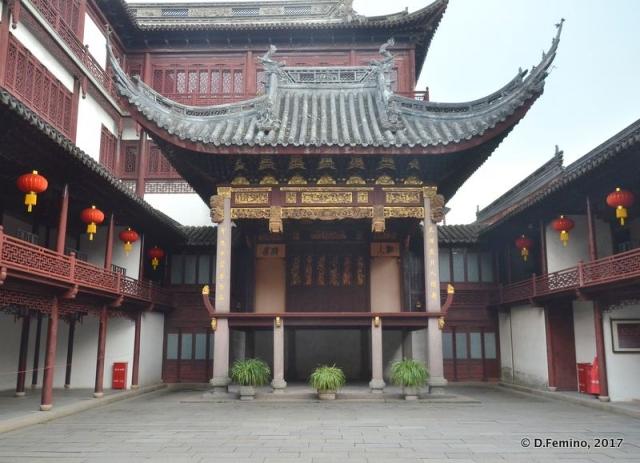 Pavilion in Yuyuan garden (Shanghai, China 2017)