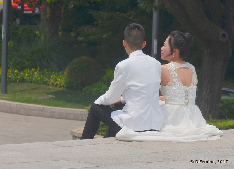 Just married (Shanghai, China 2017)