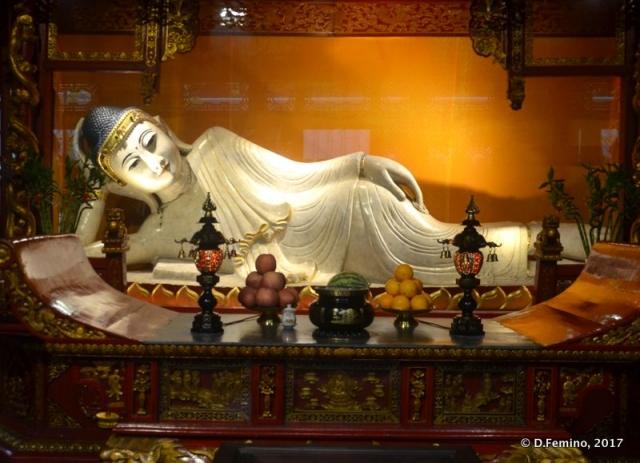 Reclined Buddha (Shanghai, China 2017)