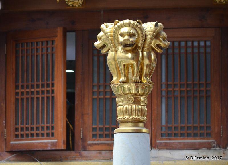 Four faces lion (Shanghai, China 2017)