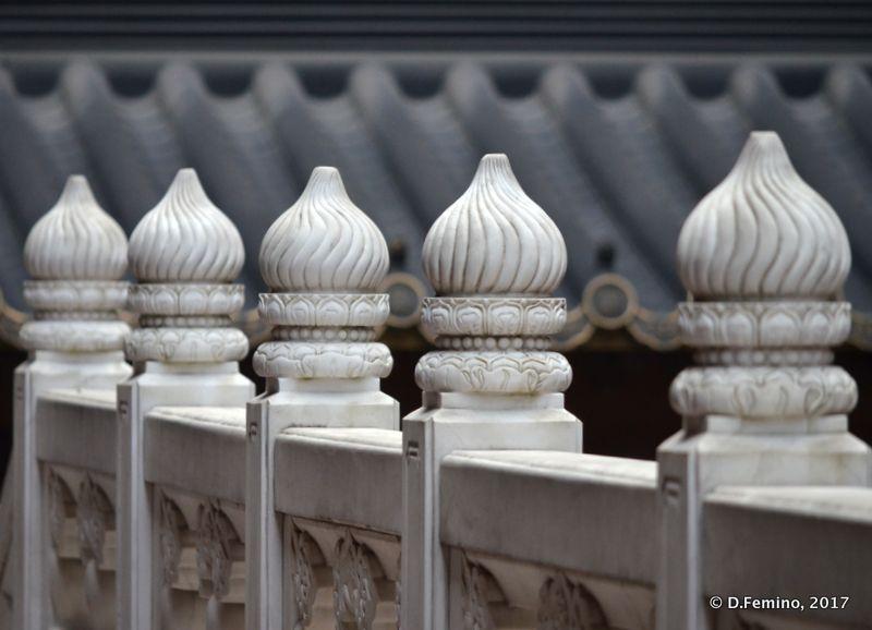 Artistic balustrade (Shanghai, China 2017)