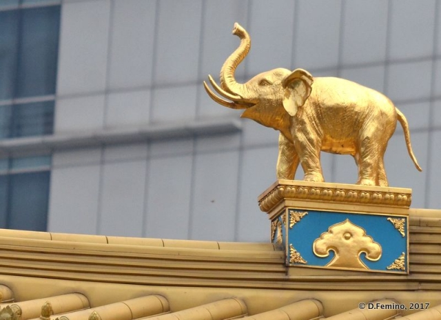Golden Elephant (Shanghai, China 2017)