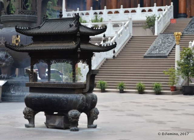 Jing'an temple (Shanghai, China 2017)