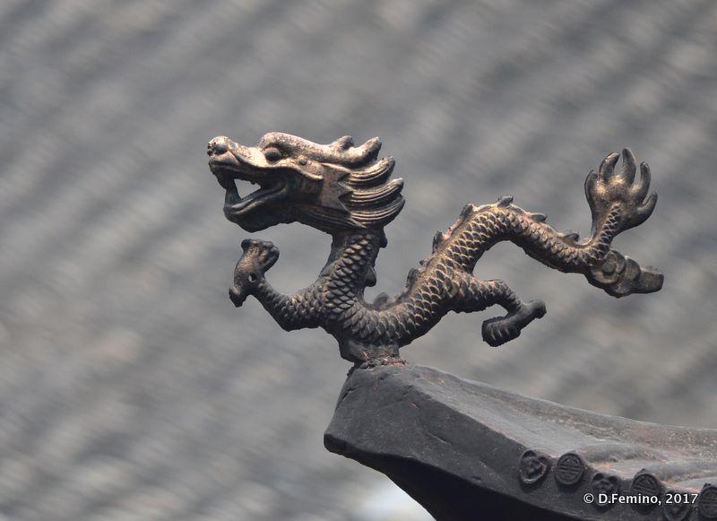 Roof decoration (Suzhou, China, 2017)