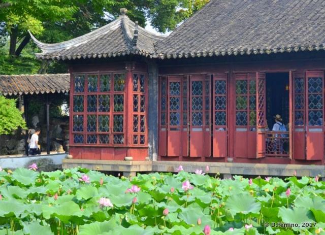 Pavilion in master of the net garden (Suzhou, China, 2017)