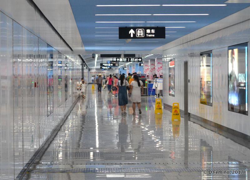Metro station (Suzhou, China, 2017)