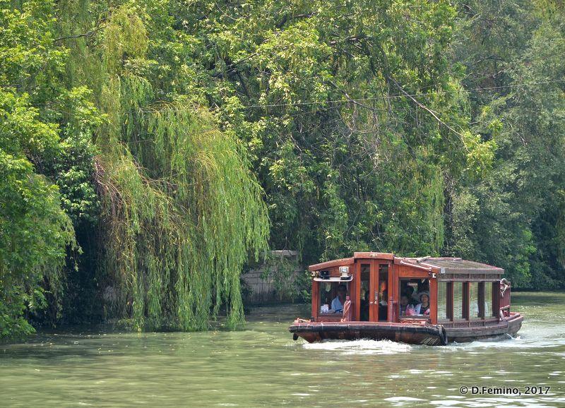 View of Shiziyang river (Suzhou, China, 2017)