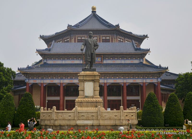 Sun Yat-Sen memorial (Guangzhou, China, 2017)
