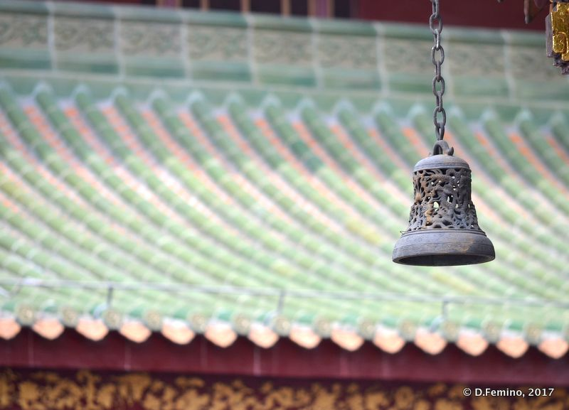 Bell and roof (Guangzhou, China, 2017)