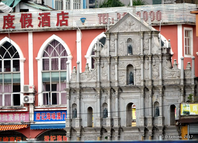 Copy of Macau St.Paul church (Zhuhai, China, 2017)