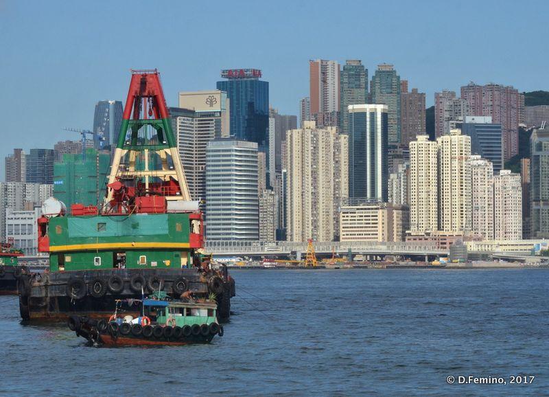 Marine glimpse (Hong Kong, 2017)