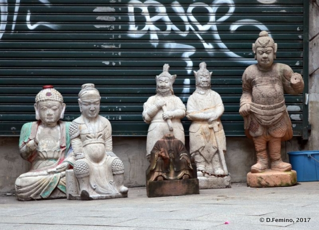 Statues of Deities (Hong Kong, 2017)