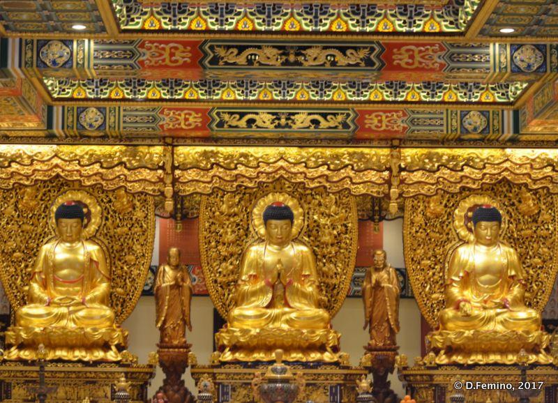 Golden Altar in Po Lin Monastery (Ngong Ping, Hong Kong, 2017)