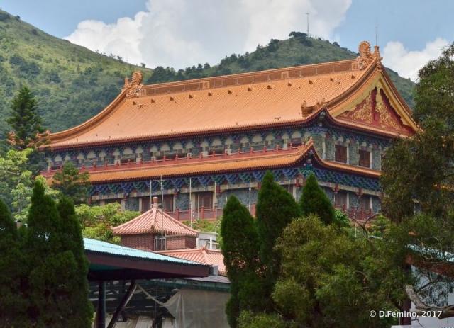 Modern temple (Ngong Ping, Hong Kong, 2017)