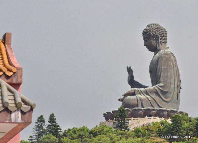 Tian Tan Buddha statue (Ngong Ping, Hong Kong, 2017)