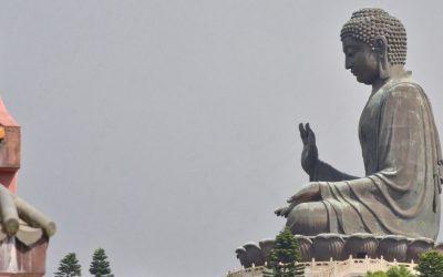 Tian Tan Buddha statue in Ngong Ping