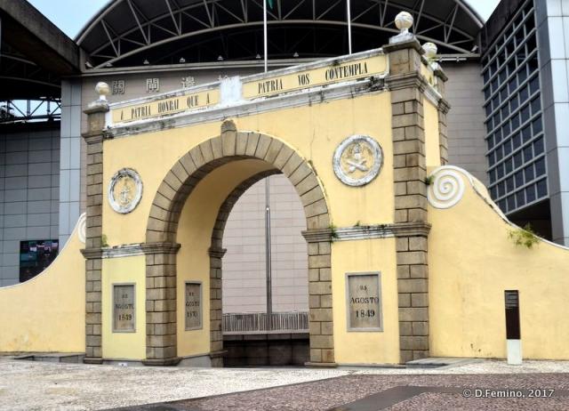 Porta do Cerco (Macau, 2017)