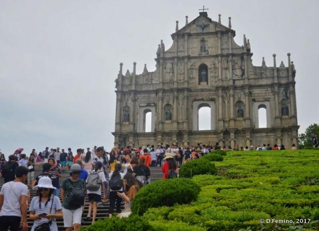 Ruined façade of Saint Paul's church (Macau, 2017)