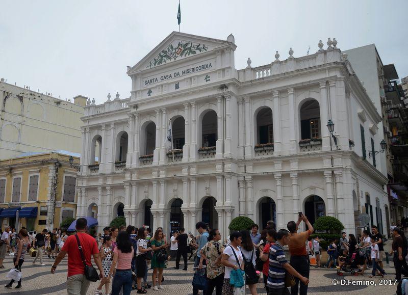Santa casa da Misericordia (Macau, 2017)