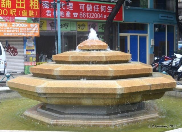 Modern fountain (Macau, 2017)