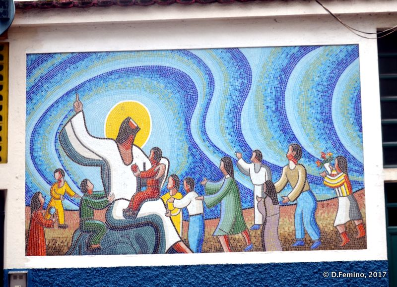 Catholic mosaic (Macau, 2017)