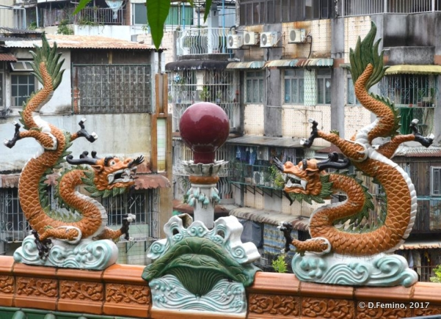 Dragons over the town (Macau, 2017)