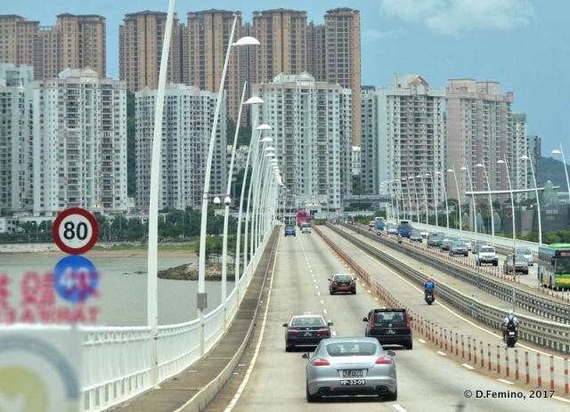 Amizade bridge (Macau, 2017)