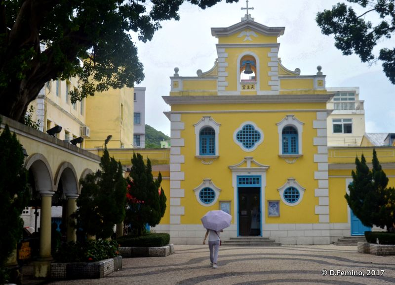 Chapel of Saint Francis (Coloane, Macau, 2017)