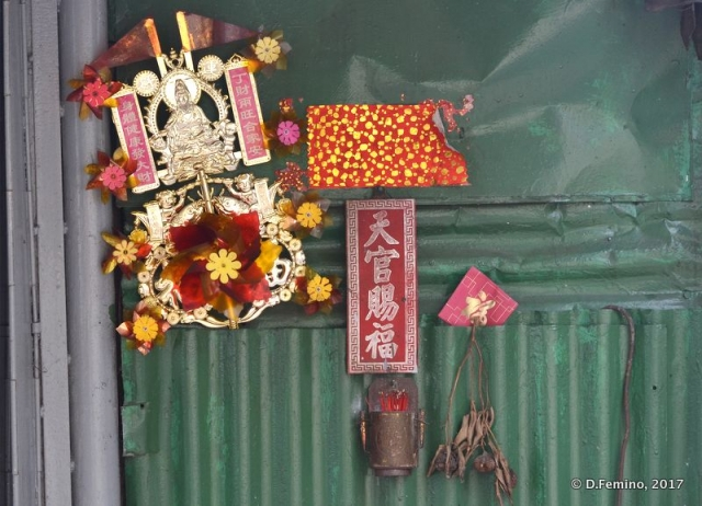 Religious decorations (Coloane, Macau, 2017)