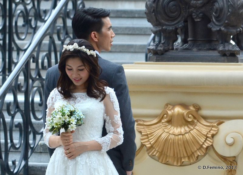 Just married (Macau, 2017)