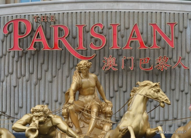The Parisian Casino (Macau, 2017)