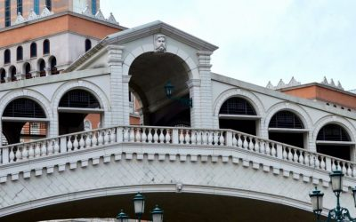 Rialto bridge copy in Cotai