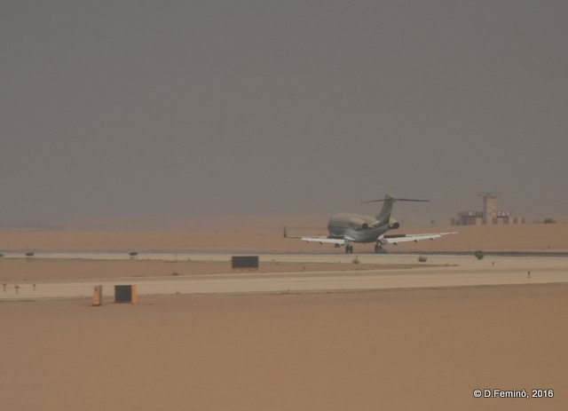 An airport of sand (Cairo, Egypt, 2016)