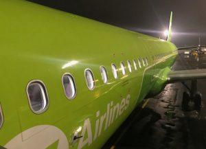 S7 plane, flying to Ulan Ude (2021)