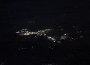 Krasnoyark from the plane (2021)