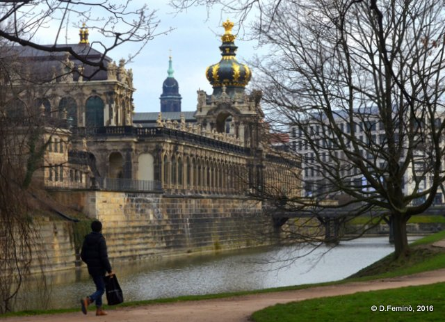 Canal by the Zwinger (Dresden, Germany, 2016)