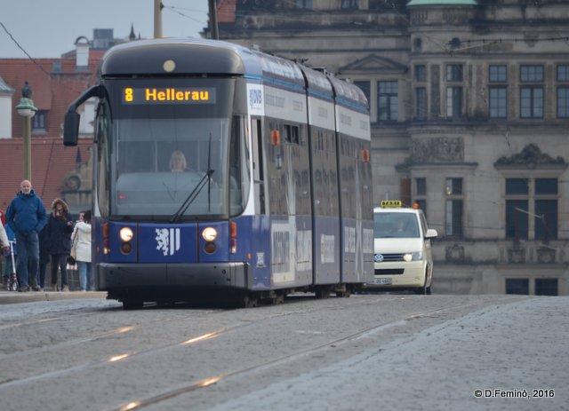 Tram (Dresden, Germany, 2016)