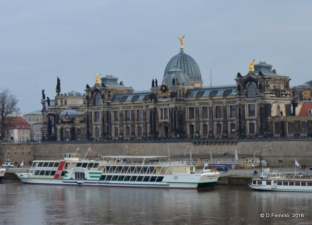 Elbe river (Dresden, Germany, 2016)
