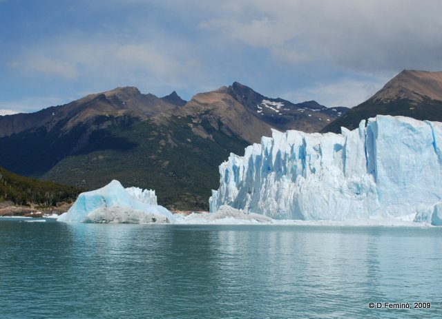 Lake Argentino and Ice (Perito Moreno, Argentina, 2009)