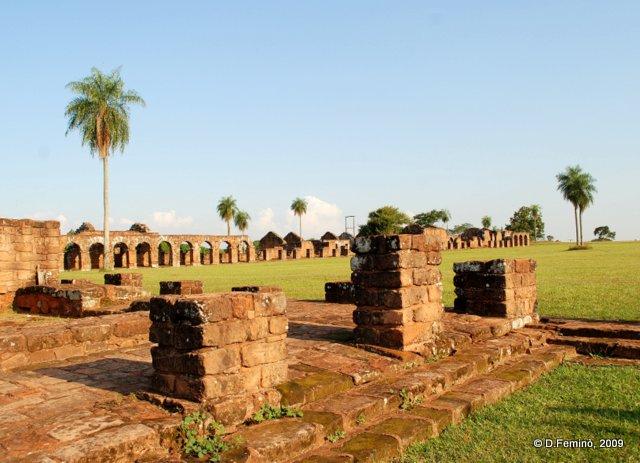 View of the site (La Santísima Trinidad de Paraná, Paraguay, 2009)