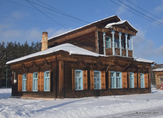 Wooden house (Ulan-Ude, Russia, 2021)