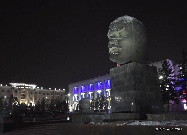 Lenin's head (Ulan-Ude, Russia, 2021)