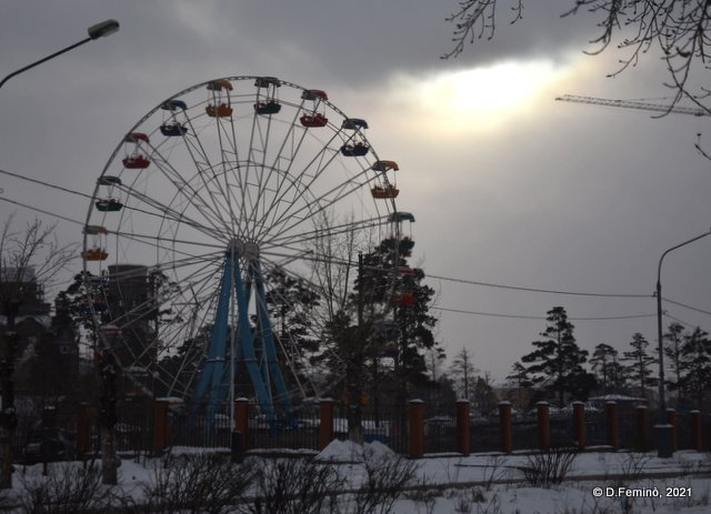 Ferris Wheel (Ulan-Ude, Russia, 2021)