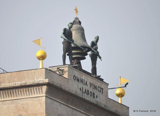 Omnia vincit amor? No, labor... (Leipzig. Germany, 2016)