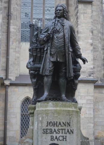 Bach monument (Leipzig. Germany, 2016) (Leipzig. Germany, 2016)