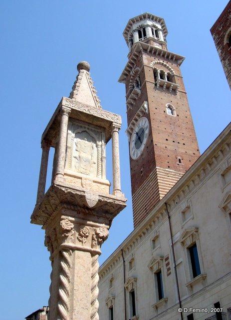 Lamberti's tower (Verona, Italy, 2007)