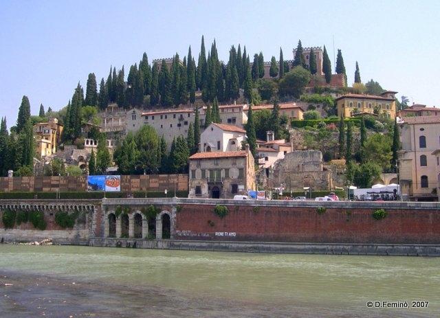 View of river Adige (Verona, Italy, 2007)
