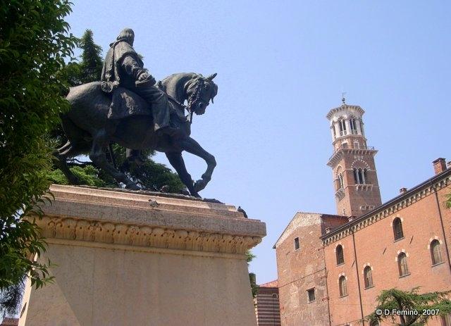Garibaldi's statue (Verona, Italy, 2007)