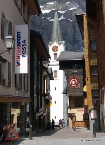 Bell tower (Leukerbad, Switzerland, 2006)